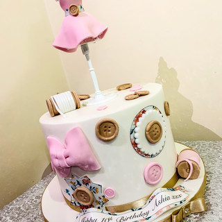 Fashion Designer Cake.