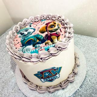 Girls Paw Patrol Cake.