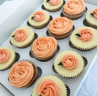 Rosette Cupcakes.