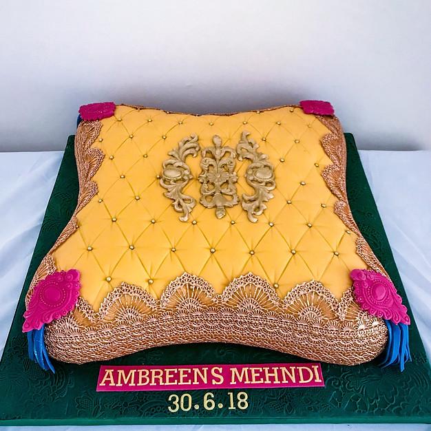 Pillow Cake.