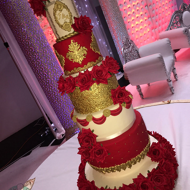 Tradtional Asian Wedding Cake.