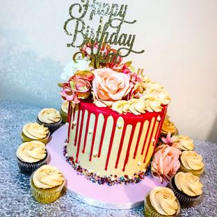 Mums Birthday Cake.