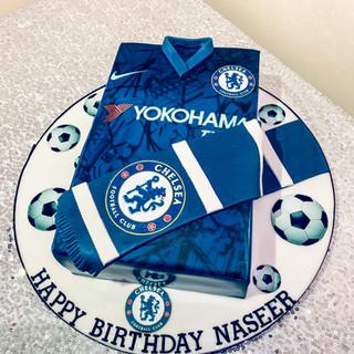 Chelsea Football Cake.