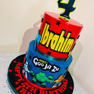 Goo Jit Zu Cake.