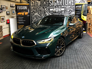 BMW M8 Gran Coupe First Edition - Full XPEL Paint protection