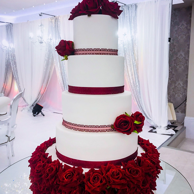 Traditional Wedding Cake.
