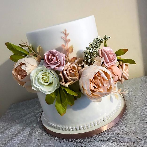 Floral Wedding Cake.