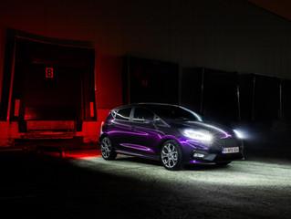 Ford Fiesta ST krijgt een carwrap in Inozetek Midnight Purple.