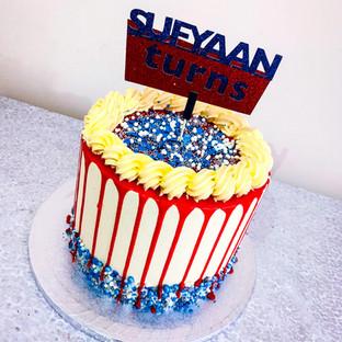 Drip Buttercream Cake