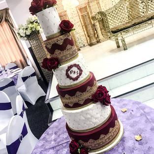 Lace Wedding Cake.