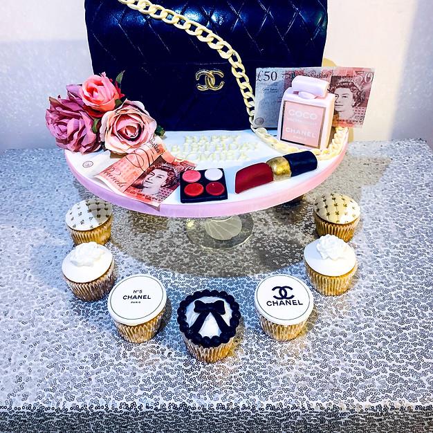 Chanel Bag Cake.