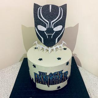 Black Panther Cake.