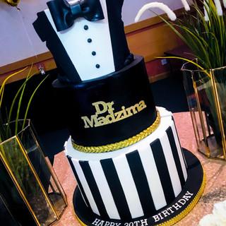 Bow Tie Cake.