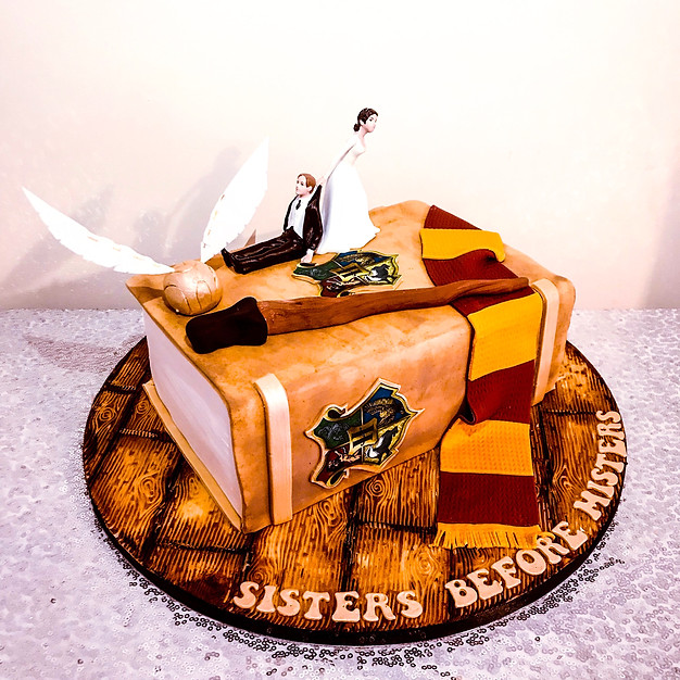 Harry Potter Book Cake.