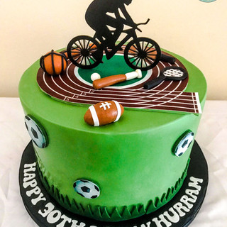Sports Cake.