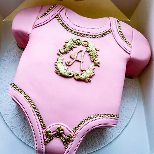 Baby Grow Cake.