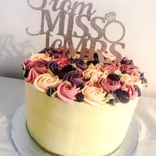 Bridal Shower Cake.