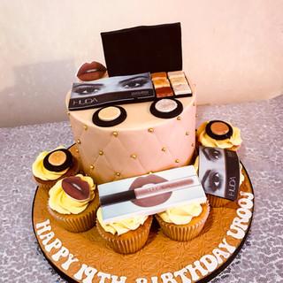 Huda Beauty Cake.