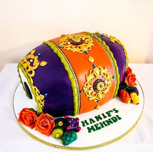 Dholki Drum Cake.