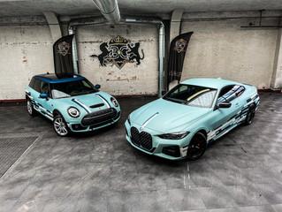 BMW 4 en MINI Clubvan Jorssen 60 jaar Special Edition