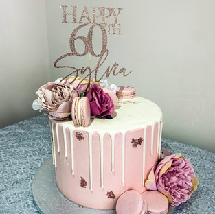 60th Birthday Cake.