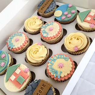 New Home Cupcakes.