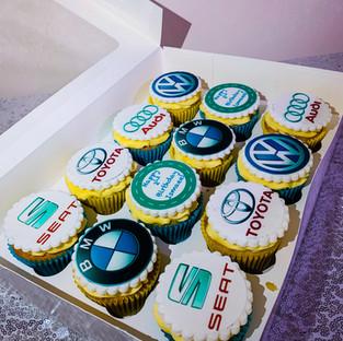 Car Cupcakes.
