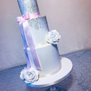 Glitter Wedding Cake.