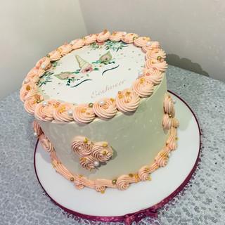 Unicorn photo Cake.
