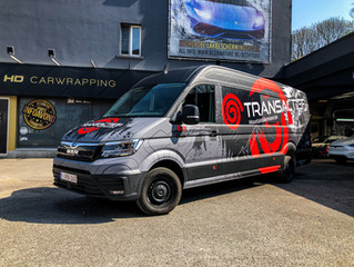 Transactief MAN TGE Custom wrap