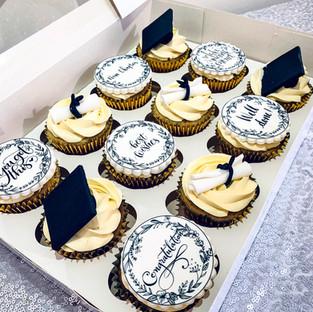 Graduation Cupcakes.
