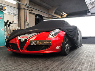 ALFA ROMEO 4C Racing Livery