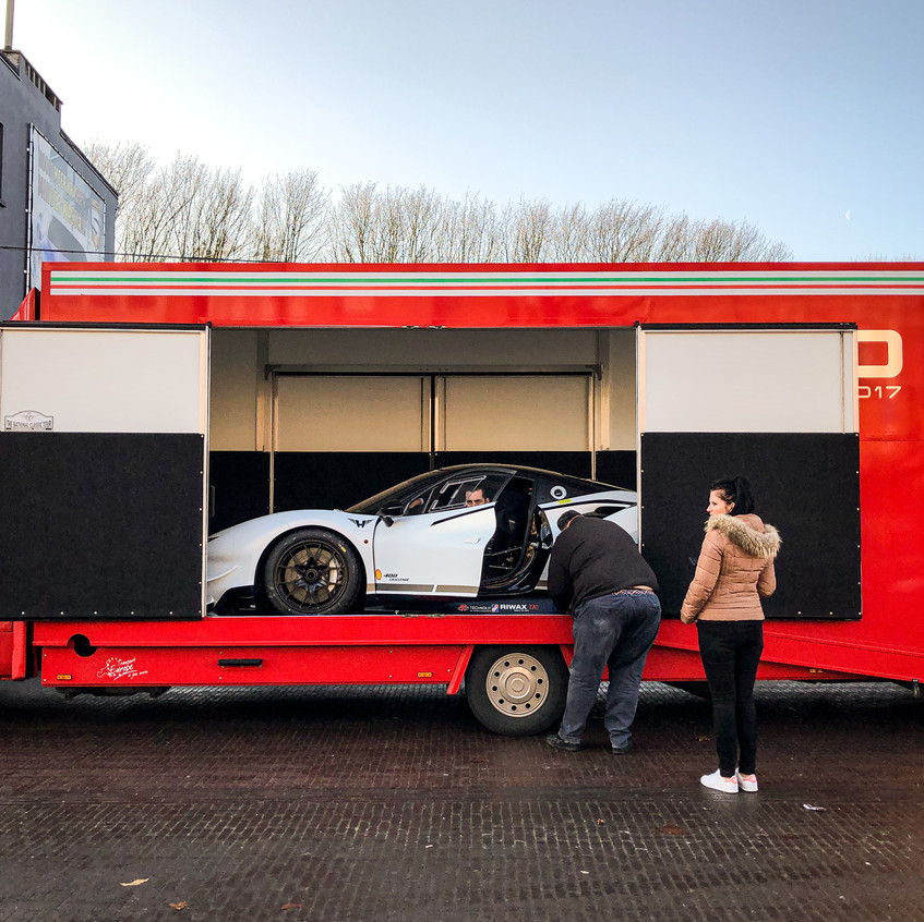 Ferrari 488 Challenge - Satin Frozen