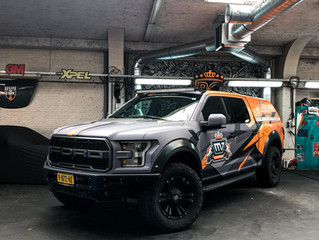 The Ford F-150 Wraptor - Printwrap for MAVERICK VALVES