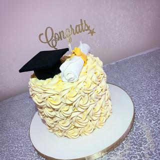 Buttercream Graduaiton Cake.