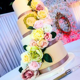 Cascading Wedding Cake.