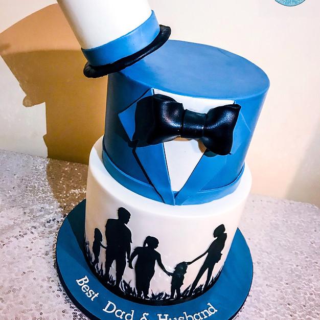 Best Dad Cake.