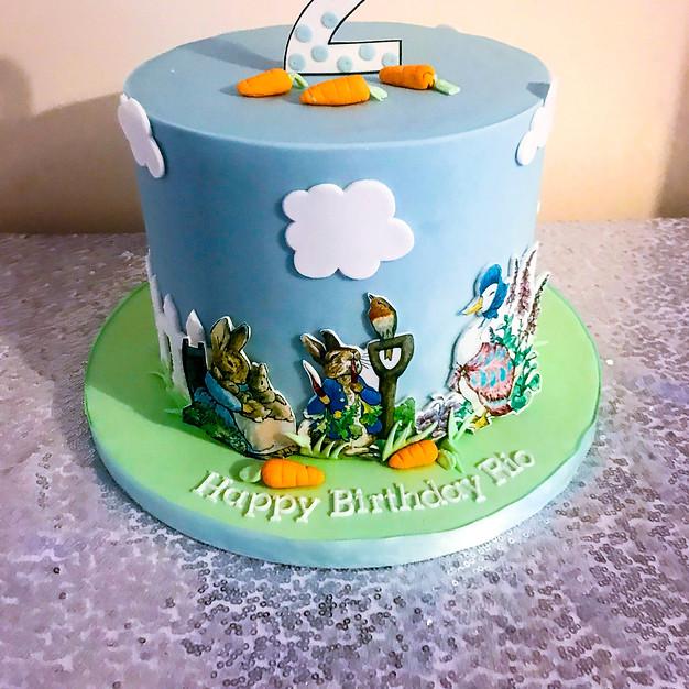Peter Rabbit Cake.