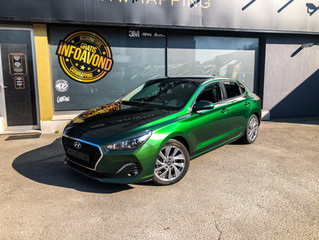 Hyundai i30 Fastback Urban Jungle Car wrap
