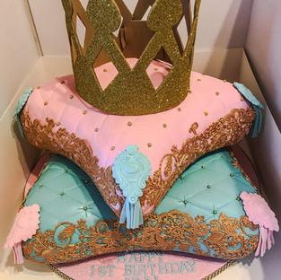 Princess Pillow Cake.