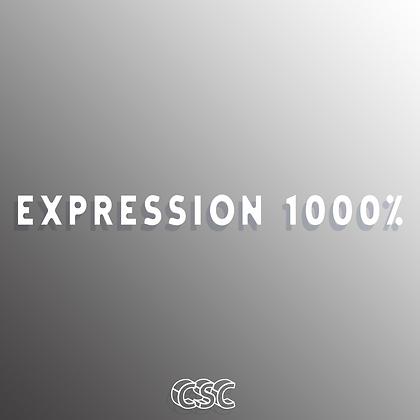 EXPRESSION 1000% Vinyl Slap