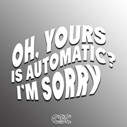 I'm Sorry Vinyl Slap