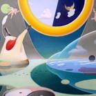 Return of the Myth/ Dream Escape, 22 x 28 inches, 2020