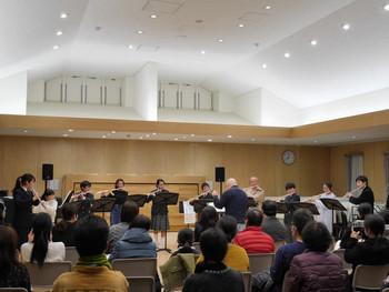 1年ぶりの管楽器教室発表会