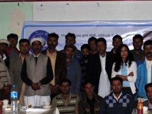 The First Porter Welfare Stakeholder meeting takes place in Skardu