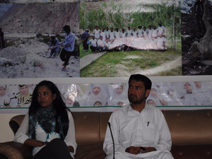 Press conference on Baltoro