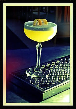 English Saffron Gin Cocktail Gillray's Saffron Whipp by Gillray's Marriott Hotel County Halll