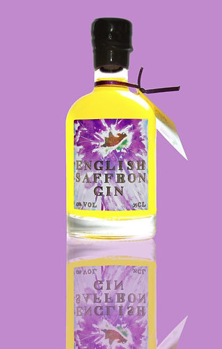 Buy Saffron Gin Online - our luxury rare gin English Saffron Gin