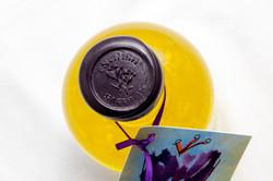 English Saffron Gin with seal