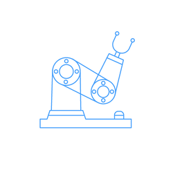 PIX factory feature icon: the application of industrial robots